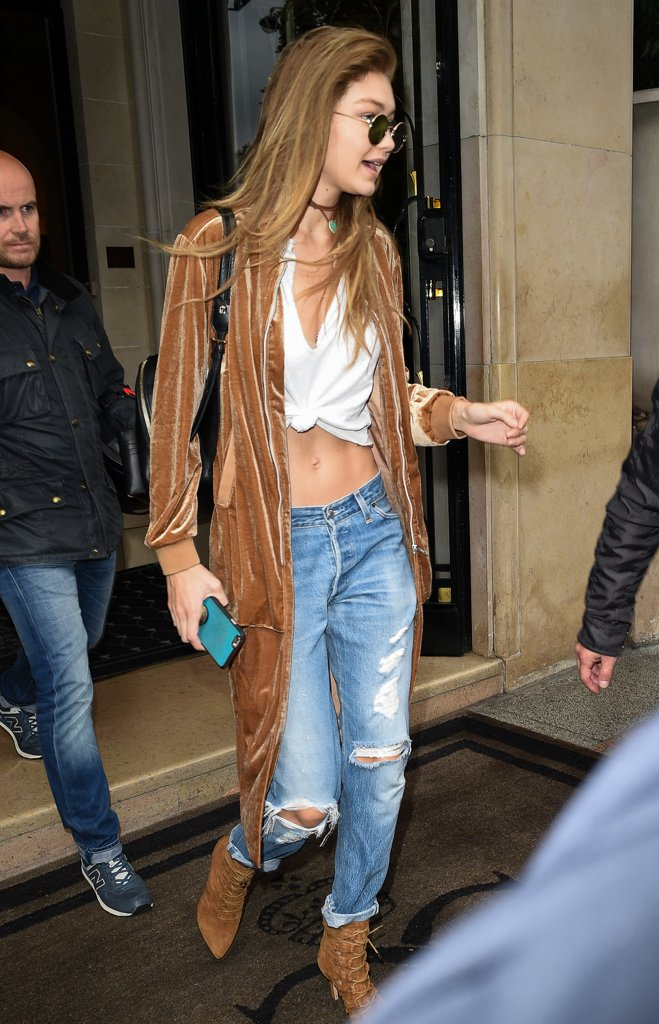 Gigi Hadid's Fashion Week Wardrobe Was Flawless