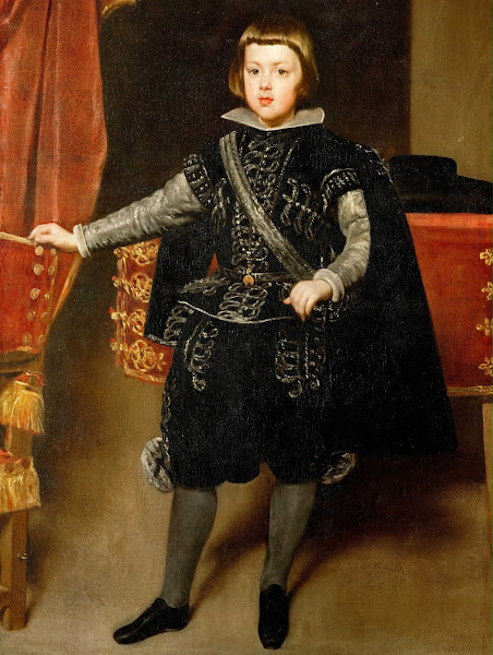 Диего Веласкес - Портрет дона Бальтазара Карлоса (ок.1640)