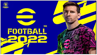 Download PES MOD eFootball 2022 PPSSPP English Commentary New Update Face & Update Latest Transfer
