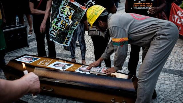Empleados brasileños de Petrobras rechazan privatizar el sector