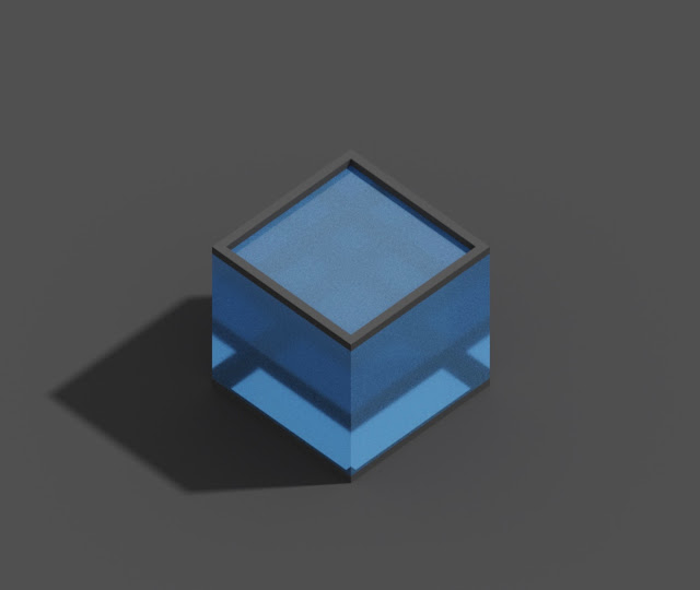 Water in MagicaVoxel