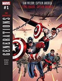 Generations: Sam Wilson Captain America & Steve Rogers Captain America