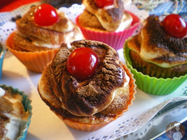Cupcakes de tiramisú {Facilísimos y sin horno)