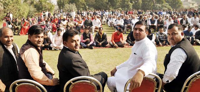 BJP leader Yashvir Dagar blames allegations against MLA Nagendra in party workers' convention