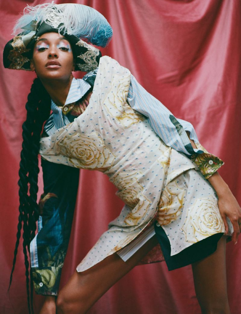 Jourdan Dunn Featured for Heroine Magazine -  Issue 12 -2020 | Celebrity Photos Daily