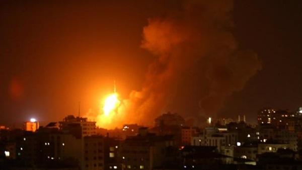 بالفيديو; اللقطات الأولى للقصف الأمريكي ضد حزب الله في العراق