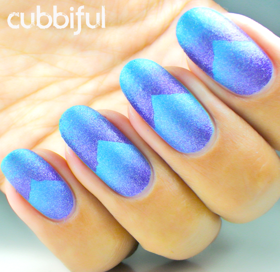 31DC2014 - Day 10: Gradient Nails