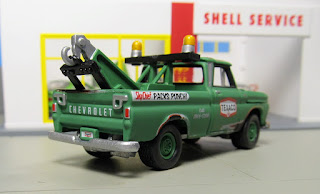 Johnny Lightning 1965 Chevrolet  Tow Truck