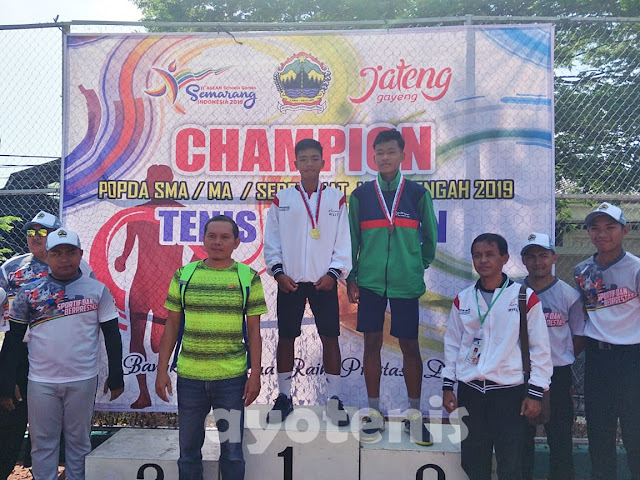 Tegar Abdi Satrio Wibowo Sabet Medali Emas POPDA Jawa Tengah