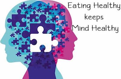 Eating Healthy keeps Mind Healthy