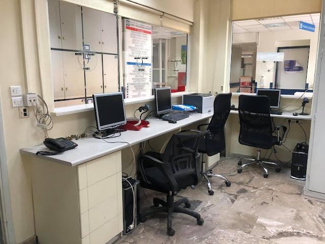 Νέα γραφεία εξυπηρέτησης ασθενών και κοινού στο Νοσοκομείο Ναυπλίου