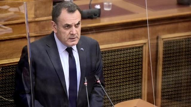 Βουλή: Διευκρινίσεις Παναγιωτόπουλου για το «εθνικό τυφέκιο» και όπλα laser του ΠΝ