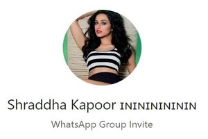 11+ Shraddha Kapoor WhatsApp Group Link Of 2020