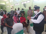Bupati Situbondo Bersama Forkopimda Tinjau Langsung Kegiatan Serbuan Vaksin di Desa Trigonco