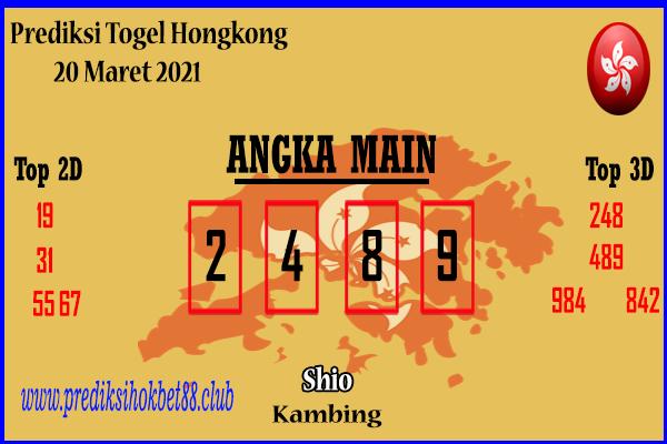 Bocoran Hongkong 20 Maret 2021