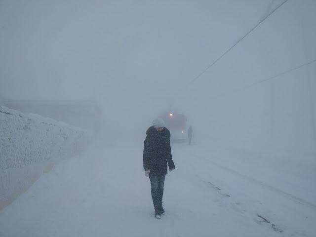 риги кульм зимой