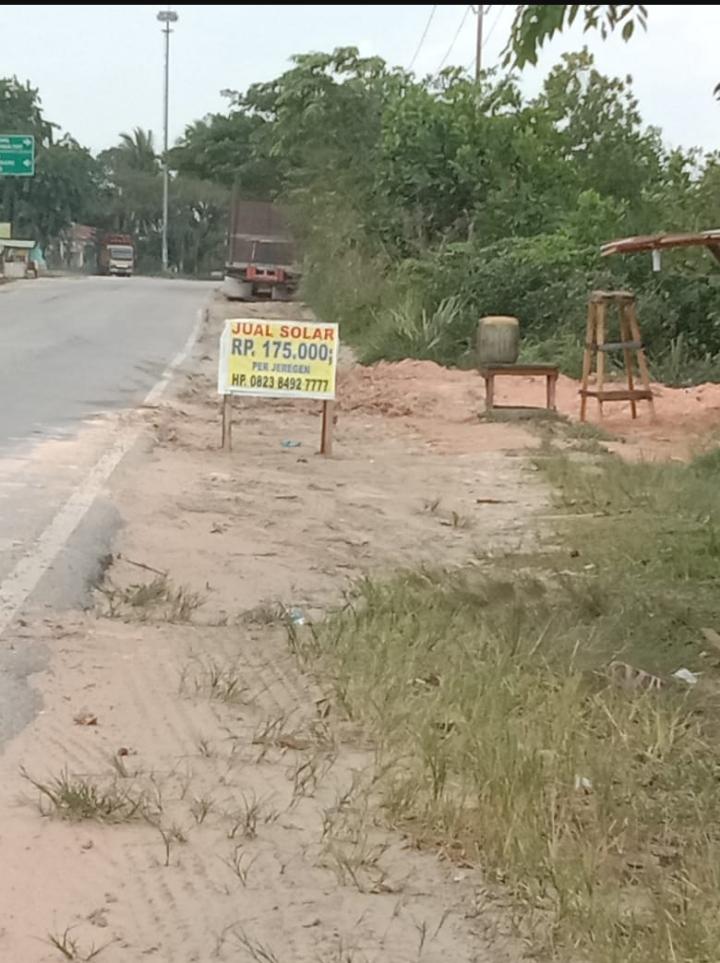 Garuda Nusantara Solar Industri Dibanderol Murah Di Perawang Siak Riau Berbuntut Panjang