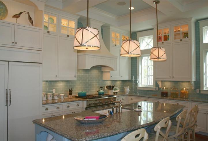 Coastal beach house kitchen