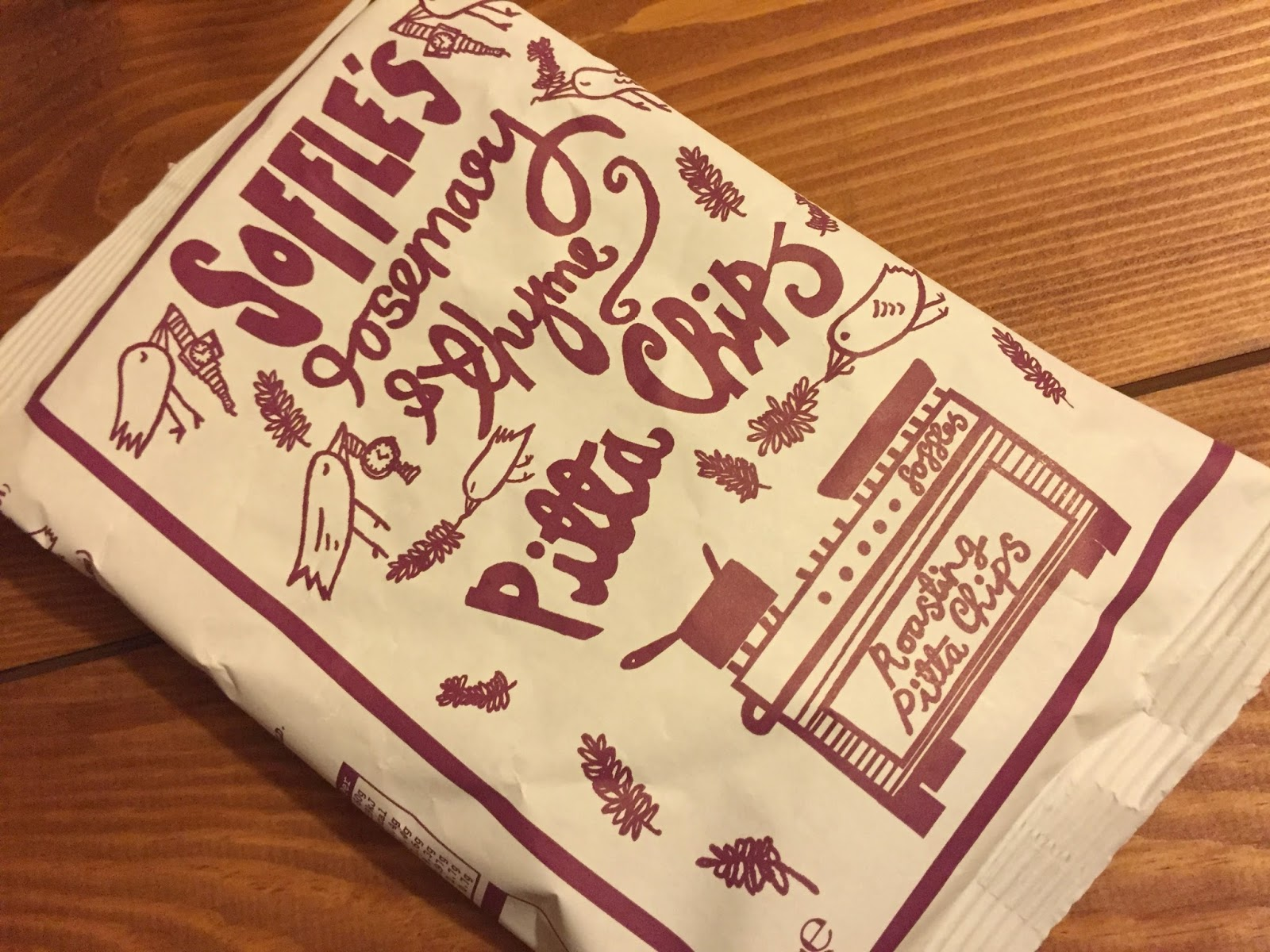 Soffles Rosemary & Thyme Pitta Chips