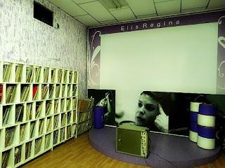 Discoteca Elis Regina na Fundação Cultural, em Igrejinha