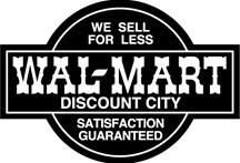 Wal-Mart logo from 1968-1981