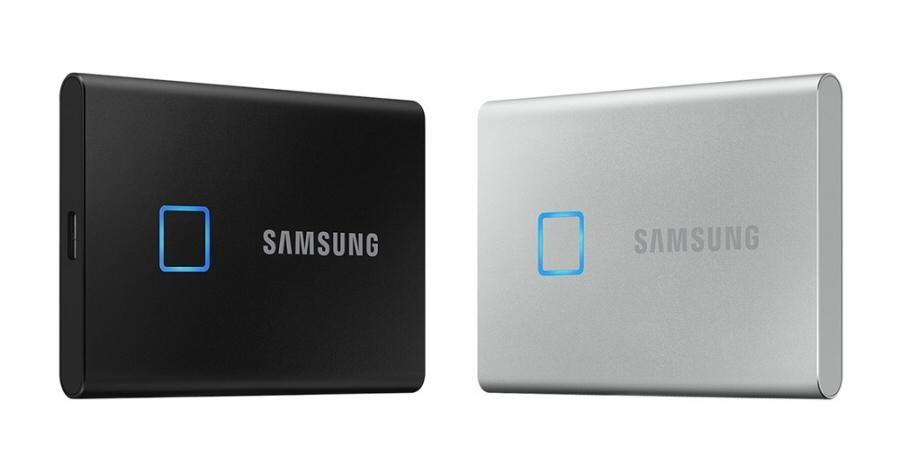 삼성전자, 속도와 보안  강화한 포터블 SSD 'T7 Touch' 출시