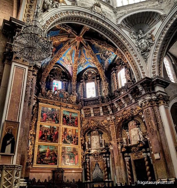 Altar da Catedral de Valência