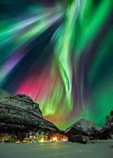 صور الشفق القطبي