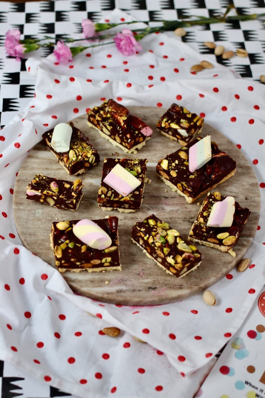 Marshmallow-Schoko-Kuchen