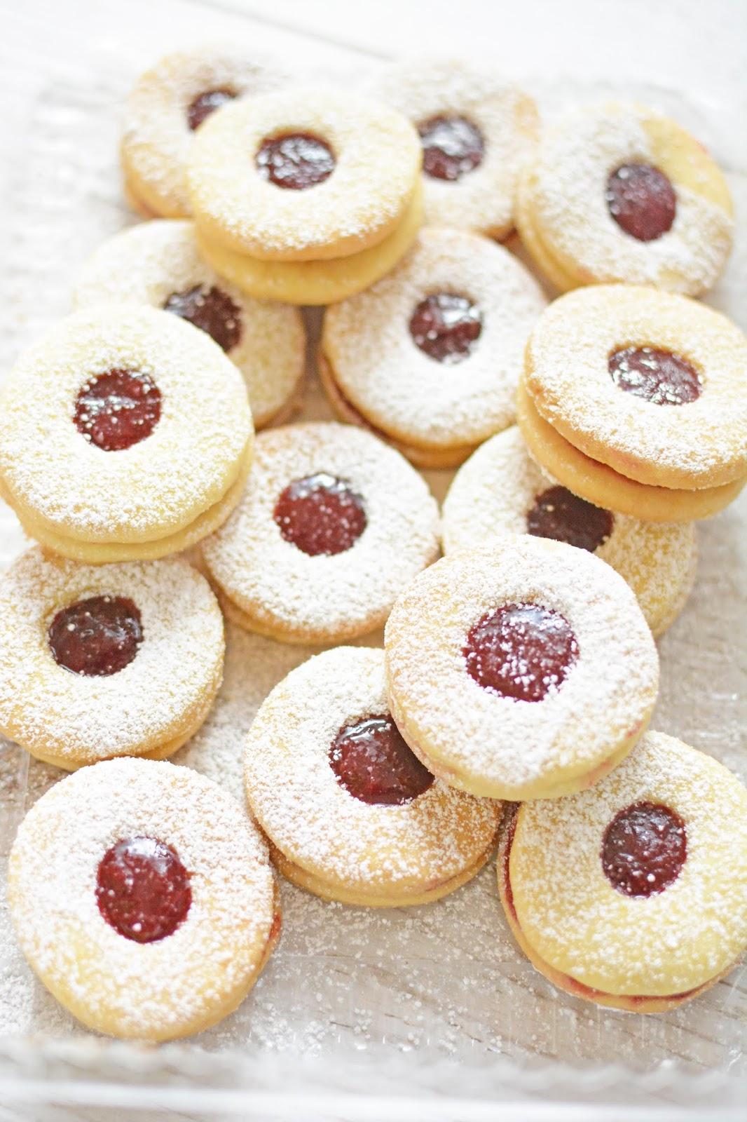 ciasteczka-maślane z powidłami