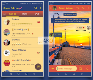 BeutyShip Theme For YOWhatsApp & Fouad WhatsApp By Jako