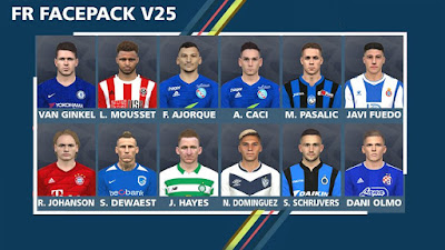 PES 2017 Facepack V25 by FR Facemaker