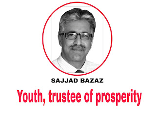 Youth, trustee of prosperity