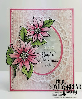 Our Daily Bread Designs Stamp/Die Duos: Joyful Christmas, Paper Collection: Christmas 2018, Custom Dies: Snowflake Sky, Ovals, Pierced Ovals, Layered Lacey Ovals