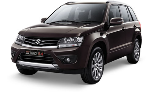 suzuki new grand vitara coklat mutiara metalik