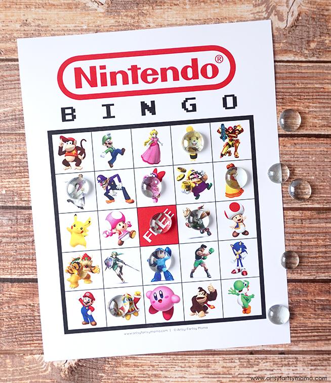 Free Printable Nintendo Bingo