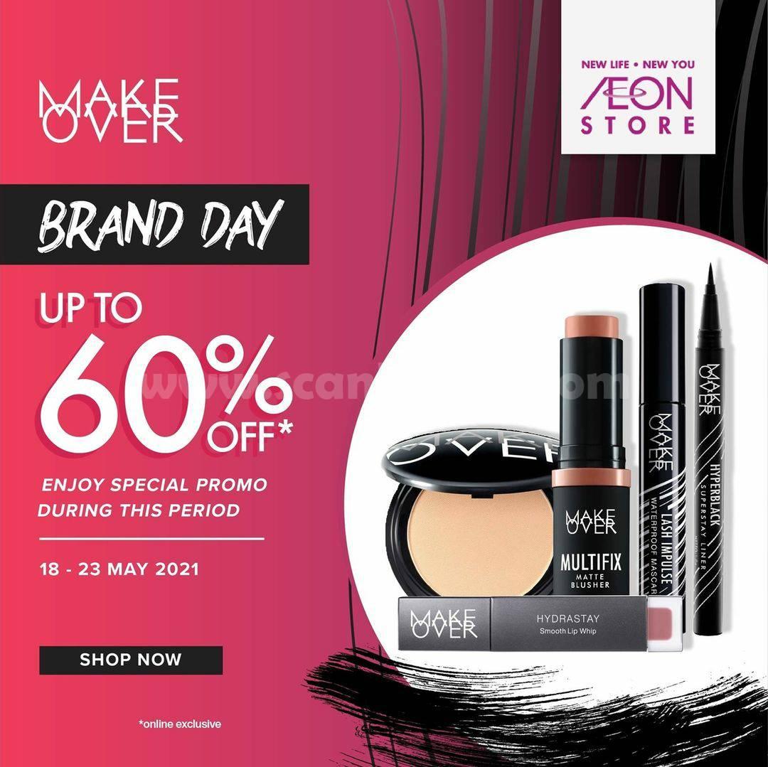 Promo AEON Store Make Over Brand Day! Diskon 60% hanya di Shopee