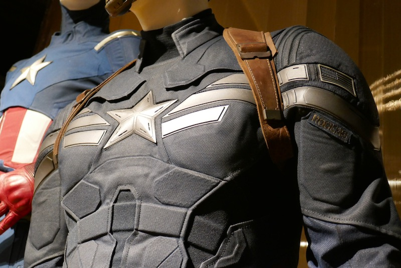 Captain America Winter Soldier costume detail