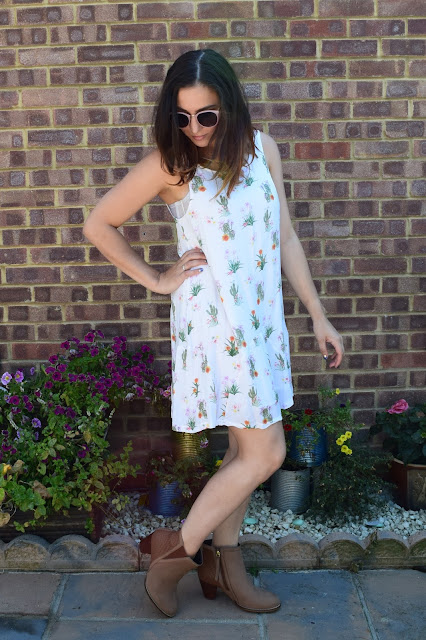 What Cat Says - Three Ways To Wear Ankle Boots in Summer / Way Two