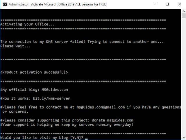 تحميل وتفعيل برنامج الاوفيس 2019 Download and Active office