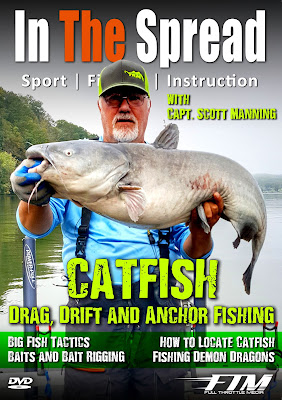 in the spread drag drift anchor fishing catfish its freshwater scott manning