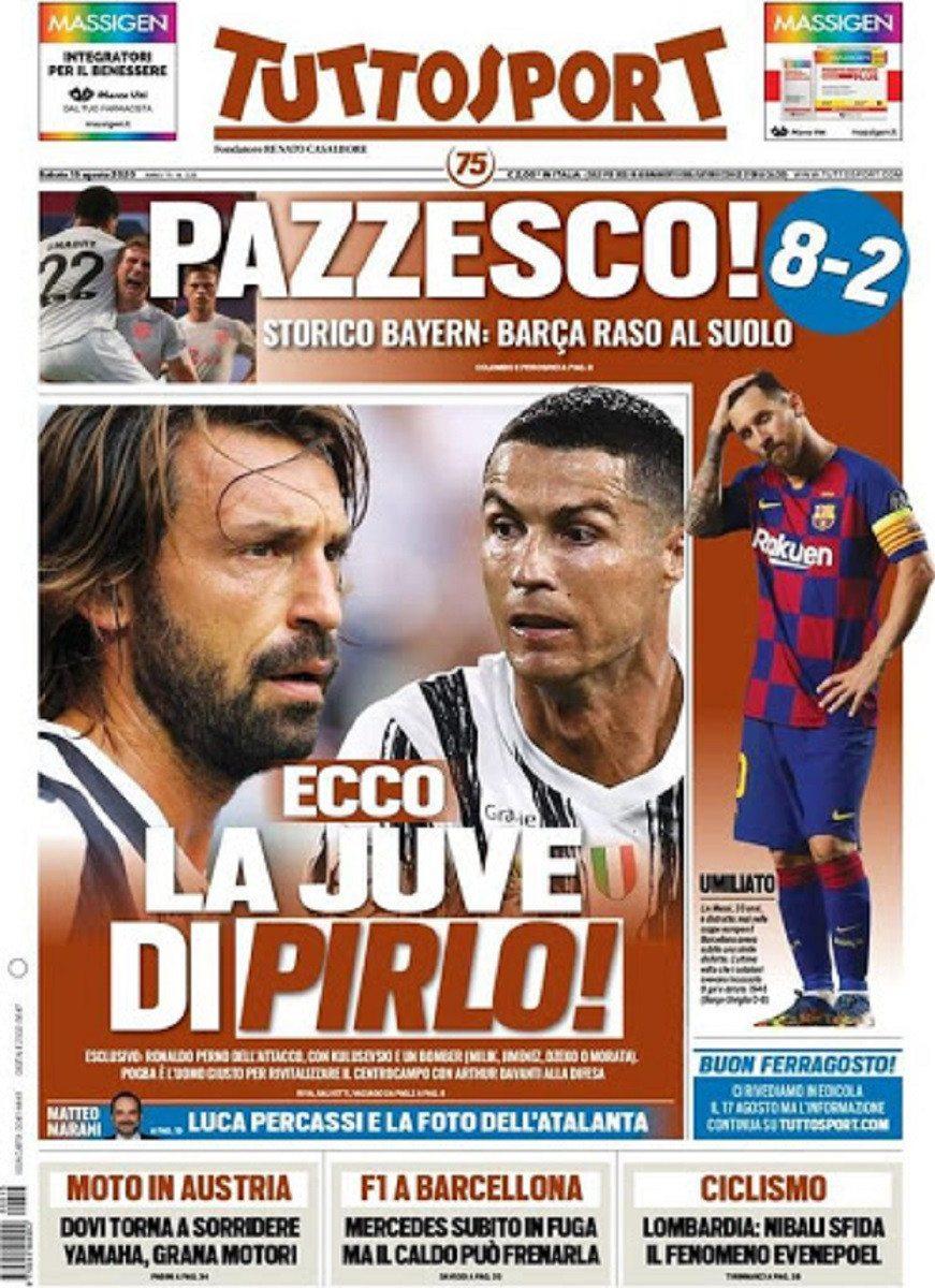 """صحيفة """" توتو سبورت """" الإيطالية"""
