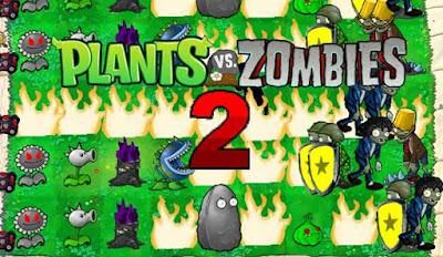 لعبة plants vs zombies 2 مهكرة