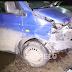 На Солом'янці п'яний водій врізався в поліцейський автомобіль