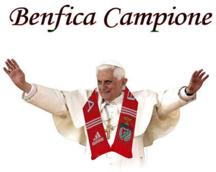 papa bento xiv portugal benfica