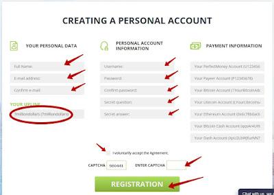 Создание нового пользователя в проектеYesss Capital