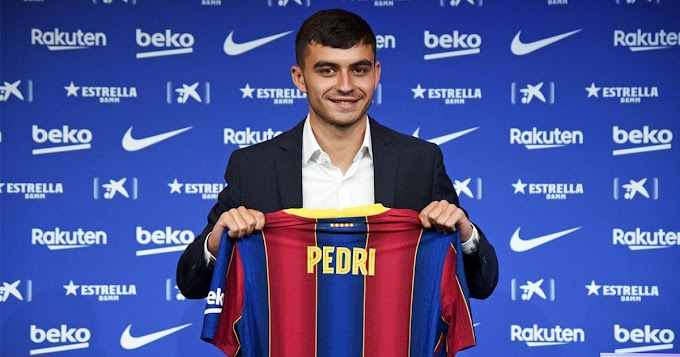 Barcelona to assign first-team number to Pedri in the coming days