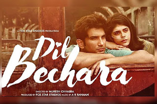 dil bechara release today