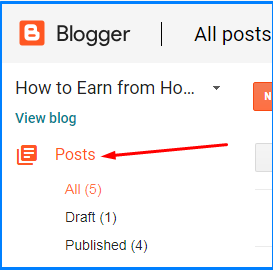 free blogger tutorial
