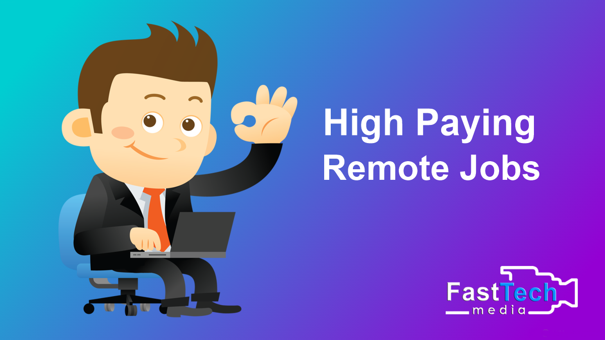 High Paying Remote Jobs